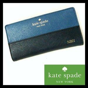 Kate Spade New York Genuine Leather Bifold Wallet